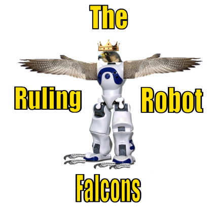 Ruling Robot Falcons Logo