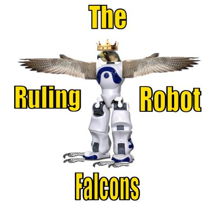 Ruling Robot Falcons Logo